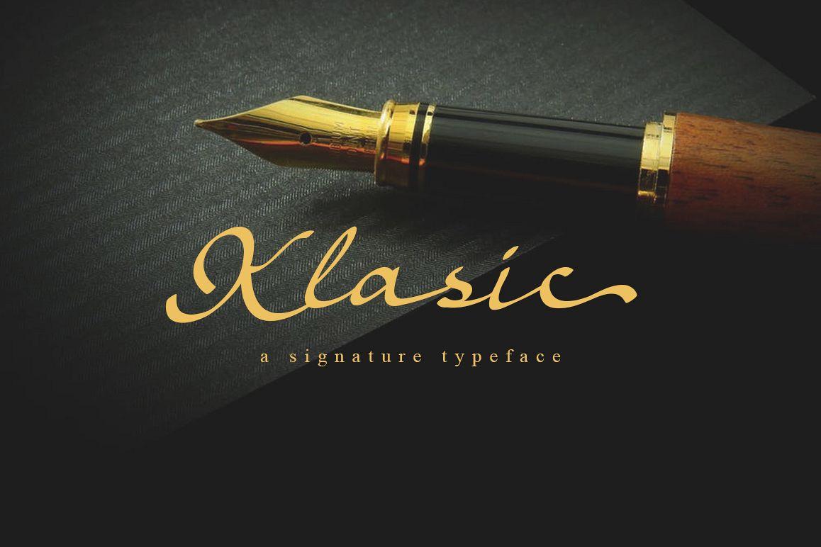 Klasic Signature Script example image 1