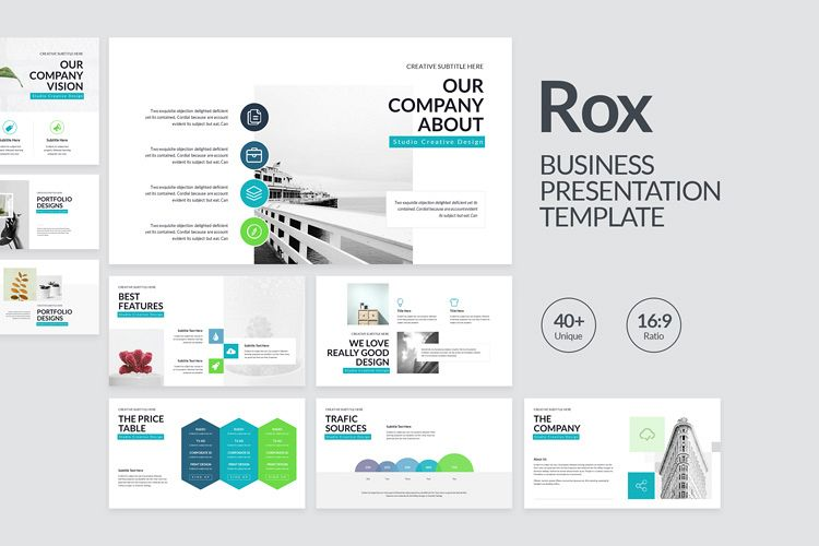 Rox Business PowerPoint Presentation Template example image 1