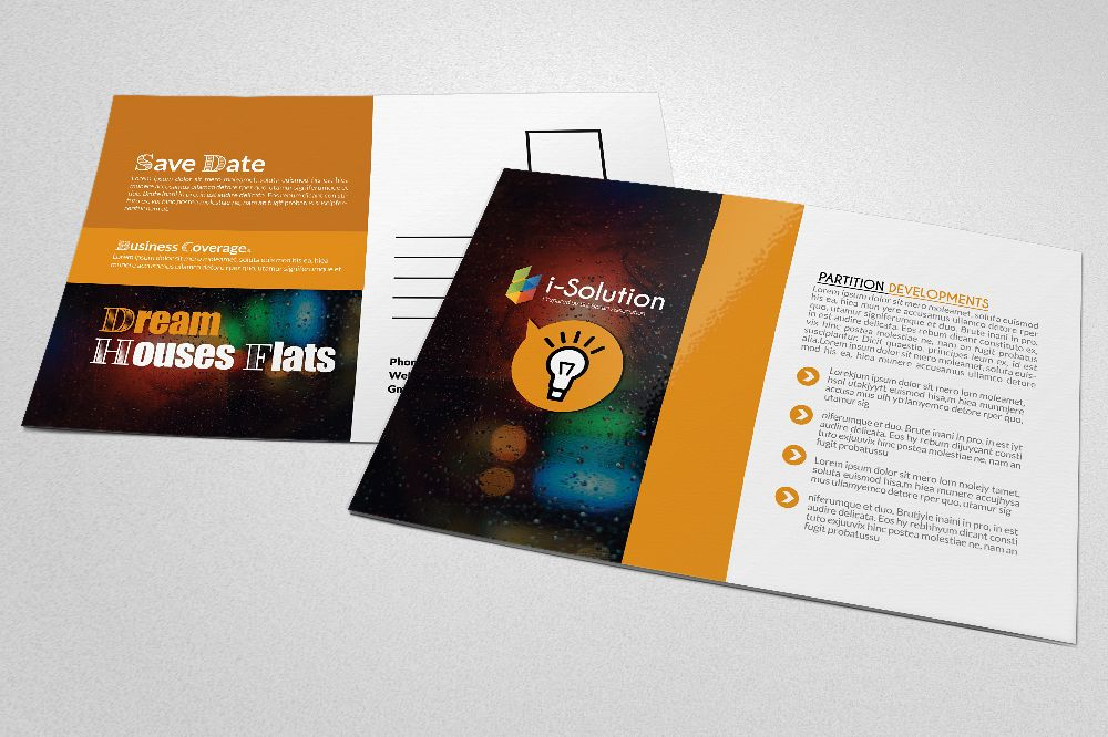 Business Good Idea Postcard example image 1