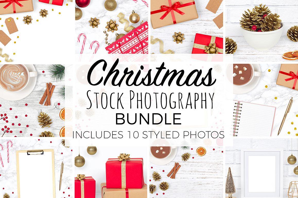 Christmas Styled Stock Photography Bundle example image 1