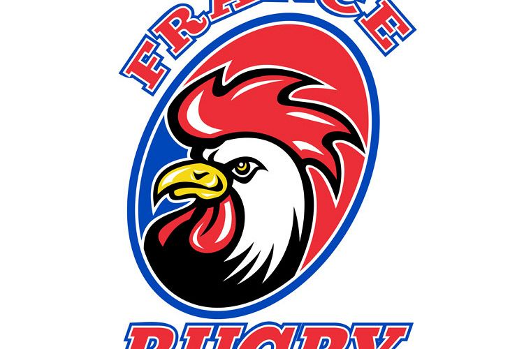 France Rugby Rooster cockerel example image 1