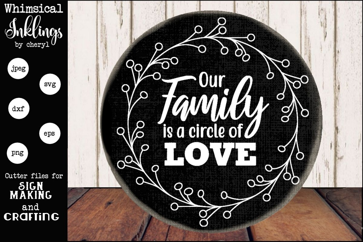 Family Circle SVG example image 1