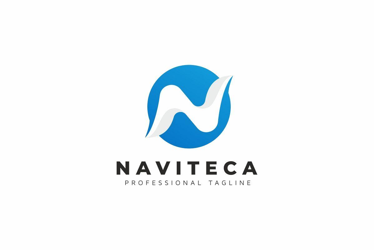 Naviteca / N Letter - Logo Template example image 1