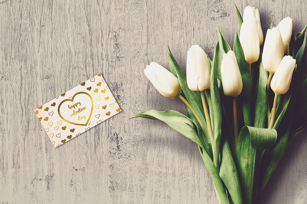 Valentine Card Mock-up #33 example image 1