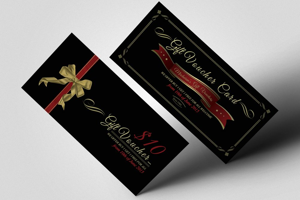 Creative Design Gift Vouchers example image 1