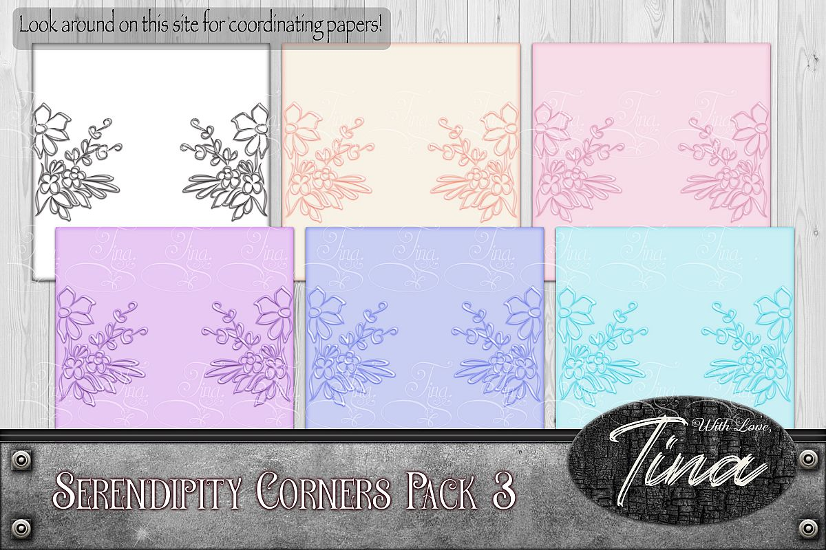 Floral Scrollwork Ironwork Scrolls Cards Wedding 092918IF3a example image 1