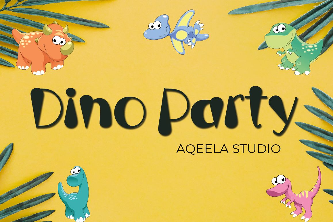 Dino Party example image 1