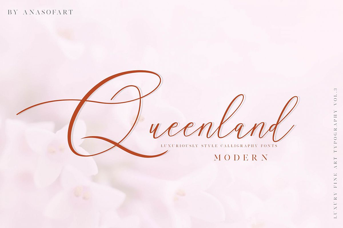queenland font example image 1