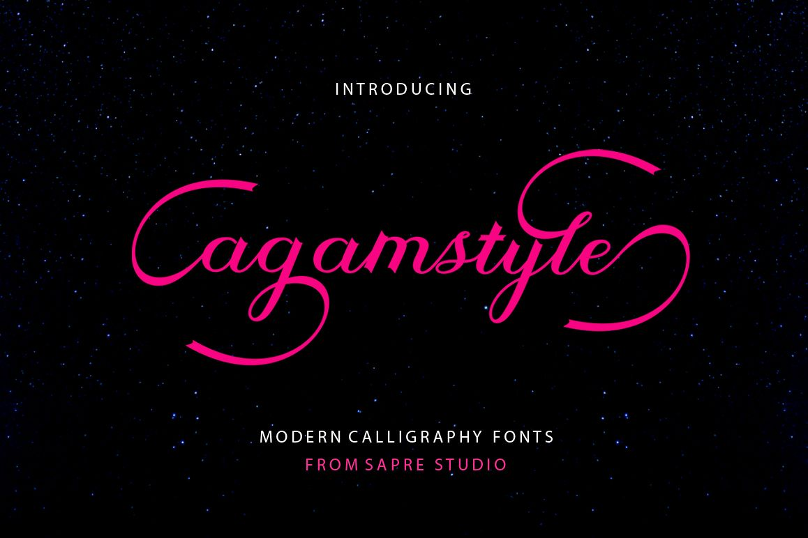 Agamstyle Script example image 1