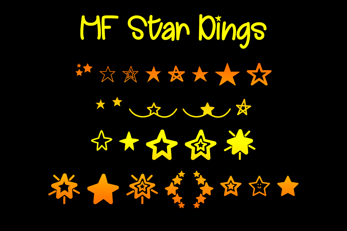 MF Star Dings example image 1