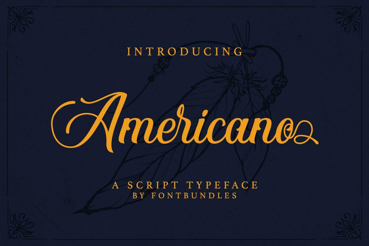 Americano example image 1