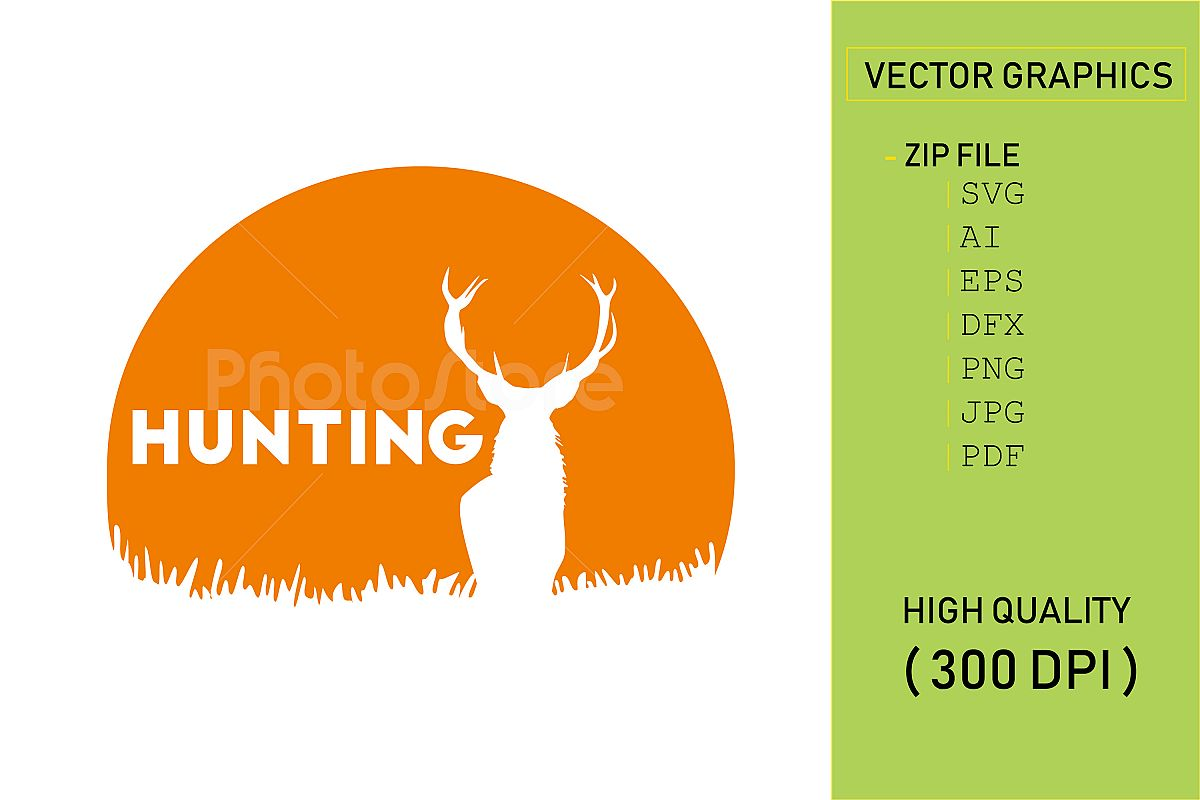 Hunting logo example image 1
