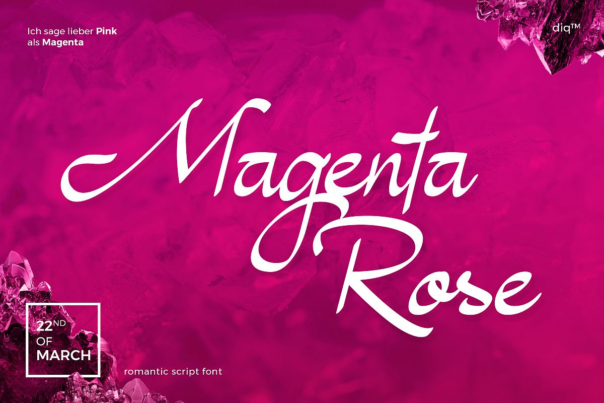 Magenta Rose example image 1