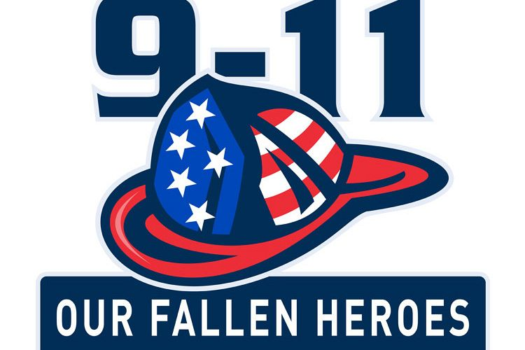 9-11 fireman firefighter hat american flag example image 1