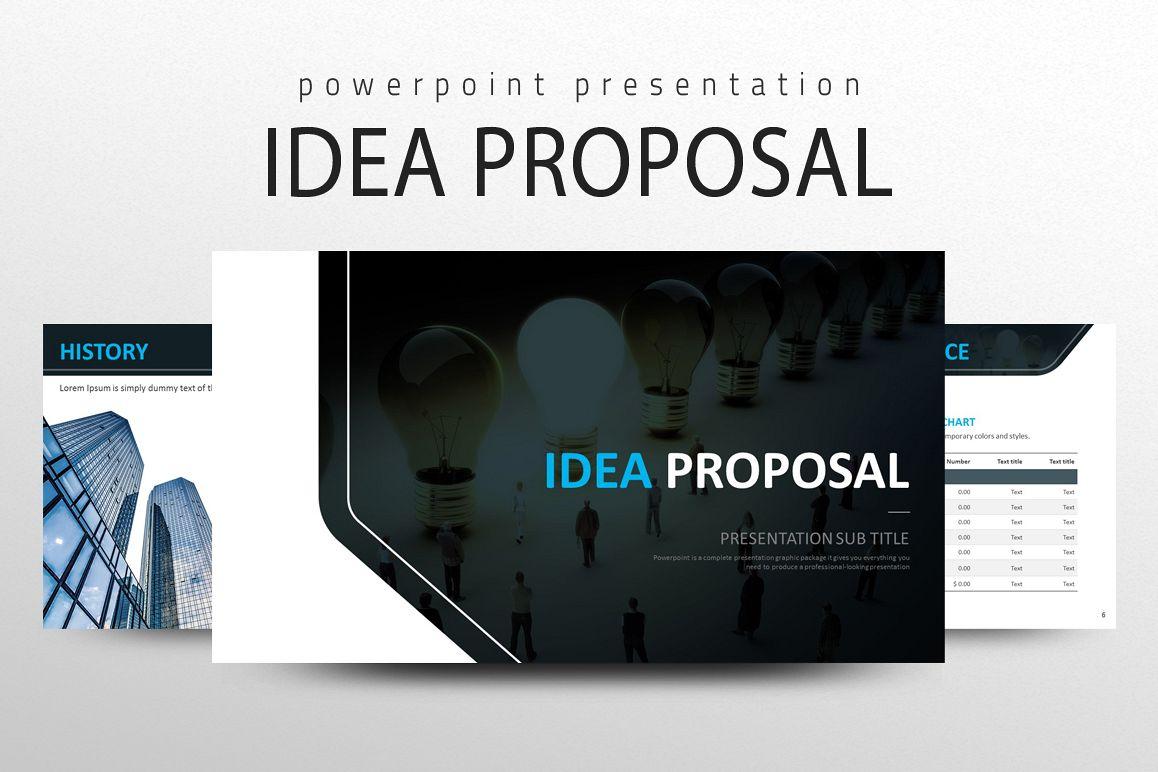 IDEA Presentation Strategy example image 1