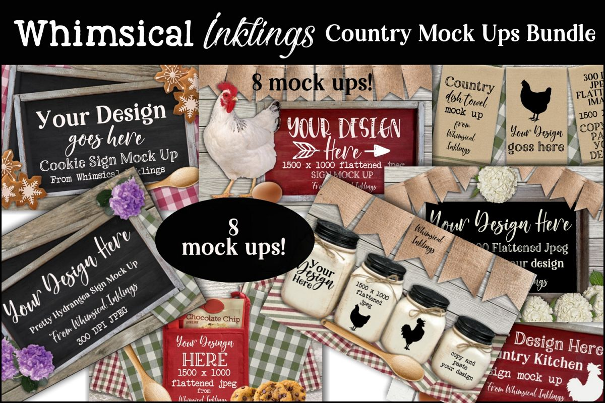 Country Mock Ups Bundle example image 1