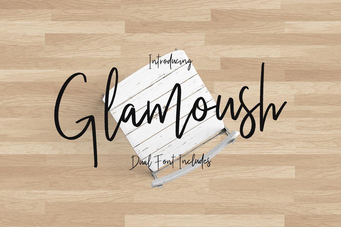 Glamoush Typeface example image 1