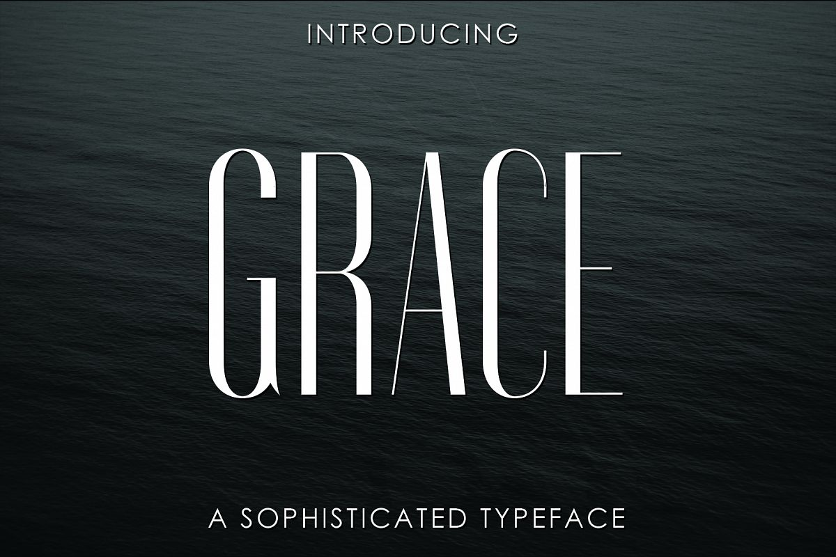 GRACE, A Sophisticated Typeface example image 1