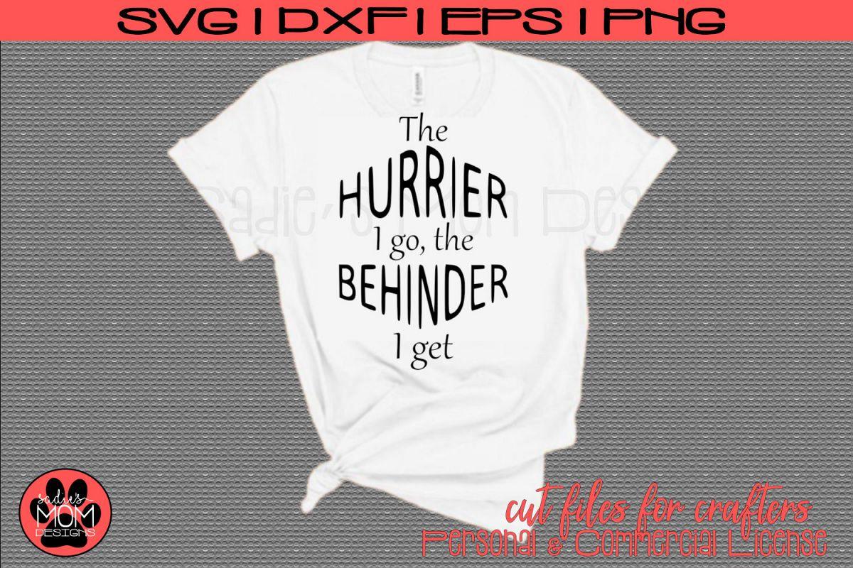 The Hurrier I Go The Behinder I Get - Alice in Wonderland example image 1