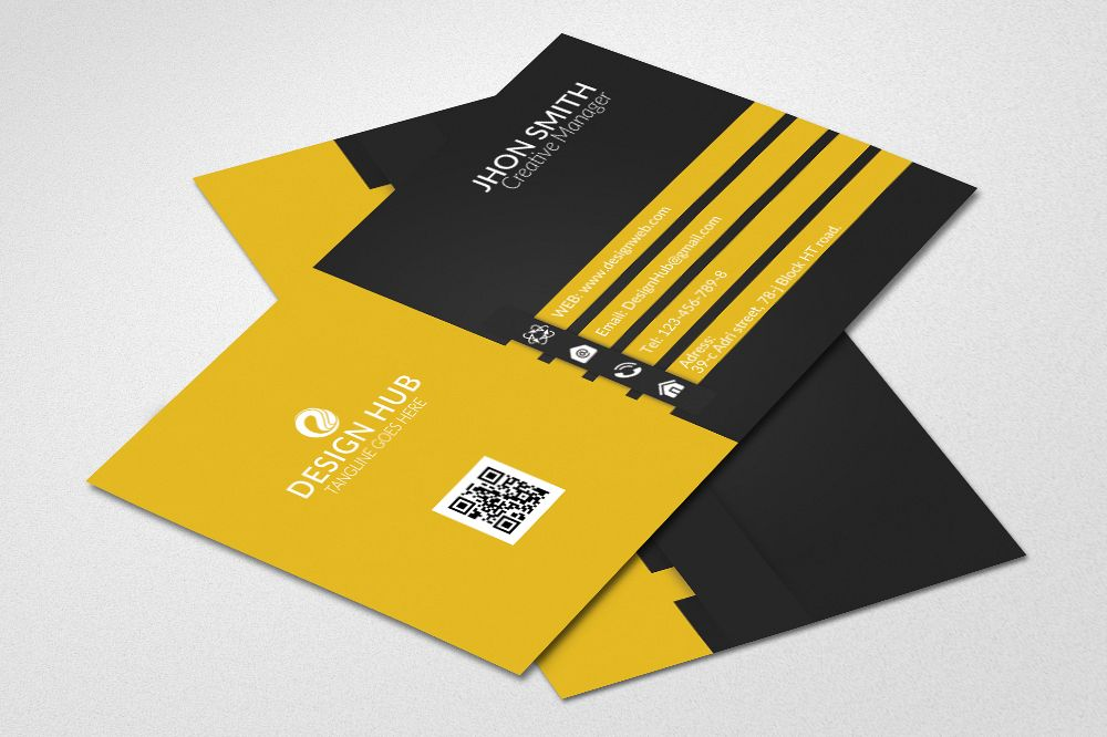 Corporate Business Cards example image 1