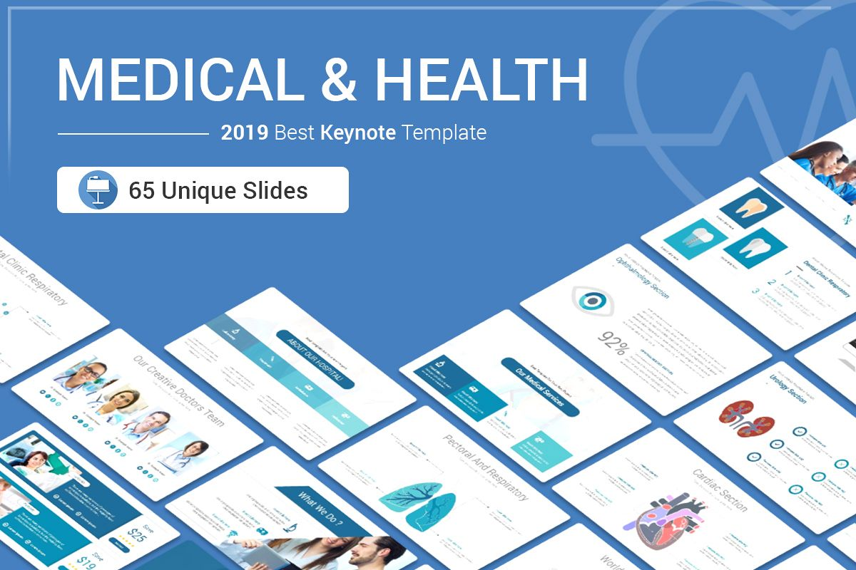 Medical & Health Keynote Template example image 1