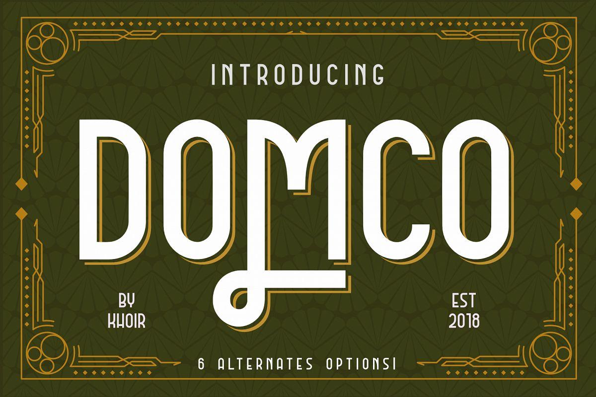 DOMCO example image 1