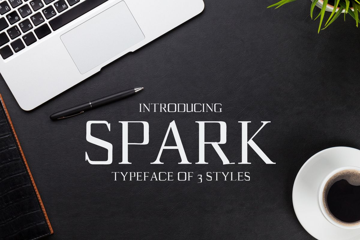 Spark Serif Typeface example image 1