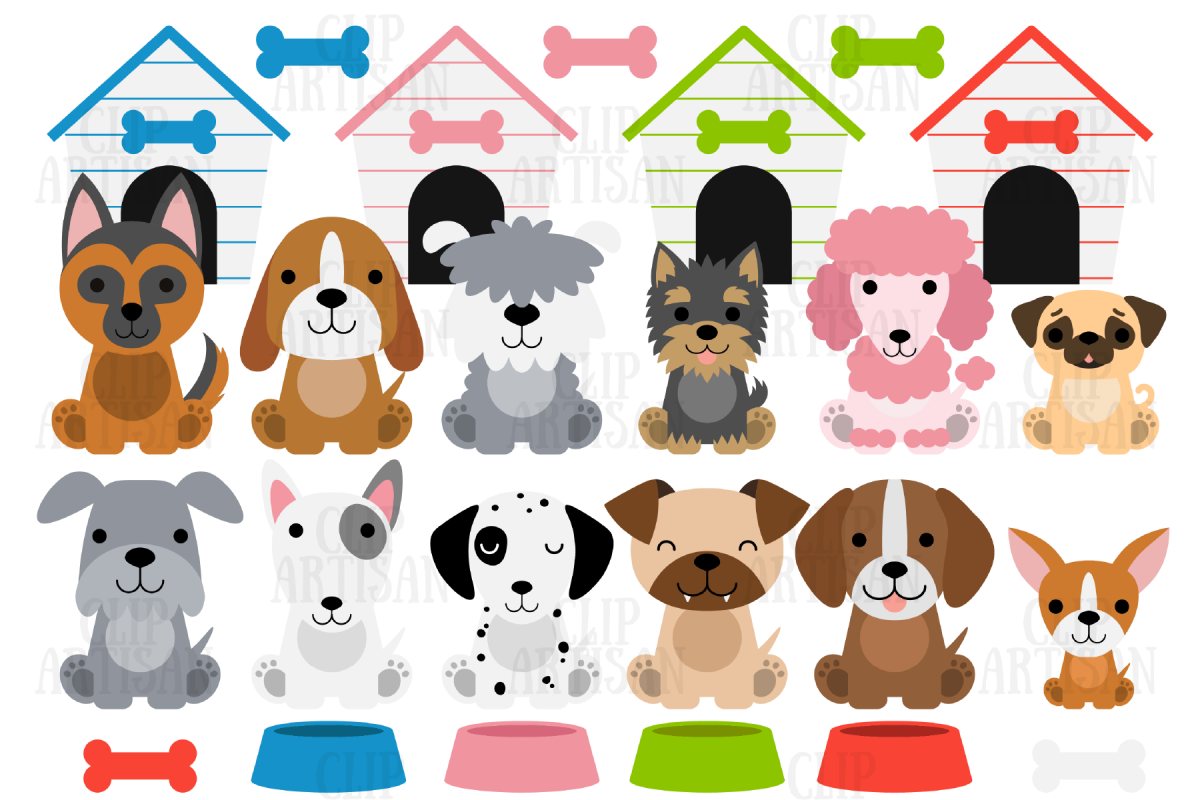 Dog Clipart, Puppies, Puppy Dog, Cute Dogs (385350 ...