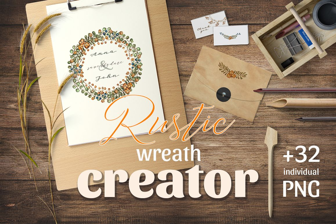Rustic Wreath Creator example image 1