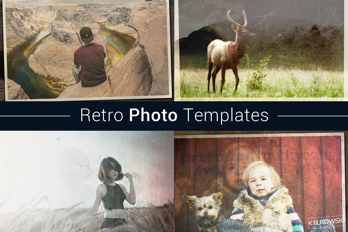 Retro Photo Template example image 1