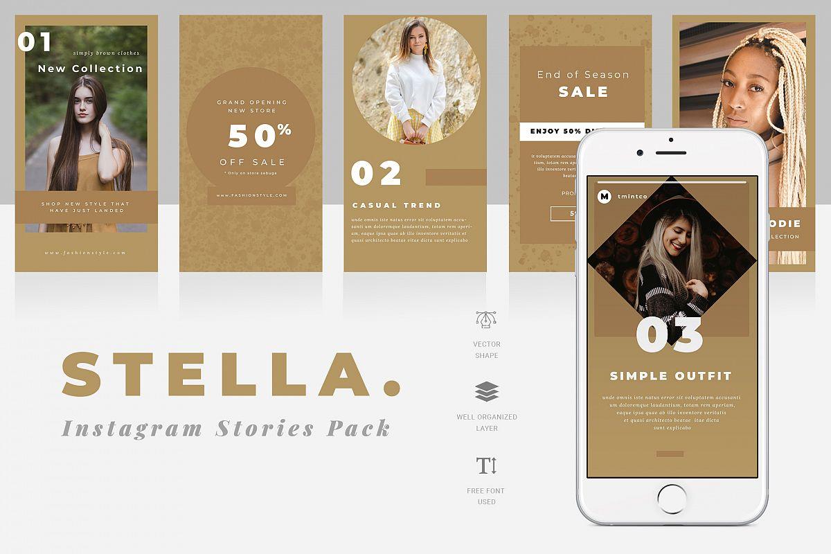 Stella Instagram Stories Template