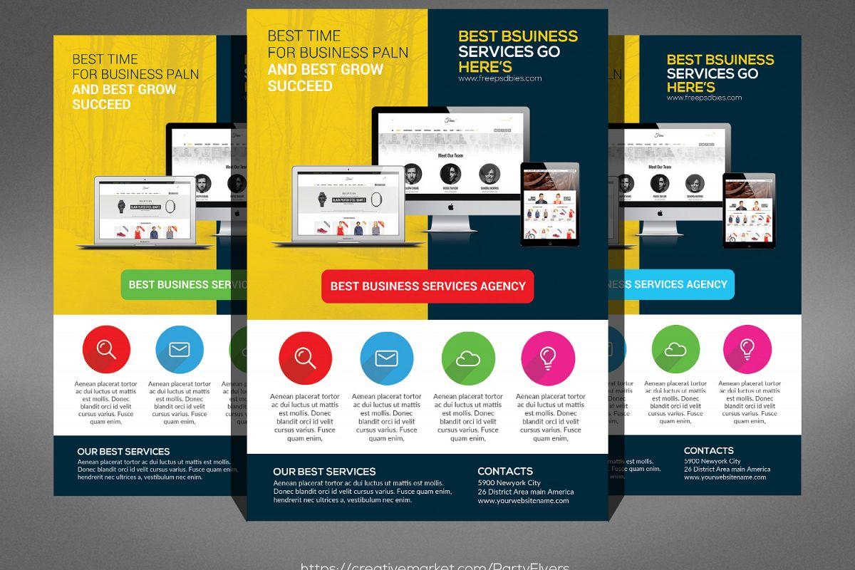 Creative Web Agency Flyer example image 1