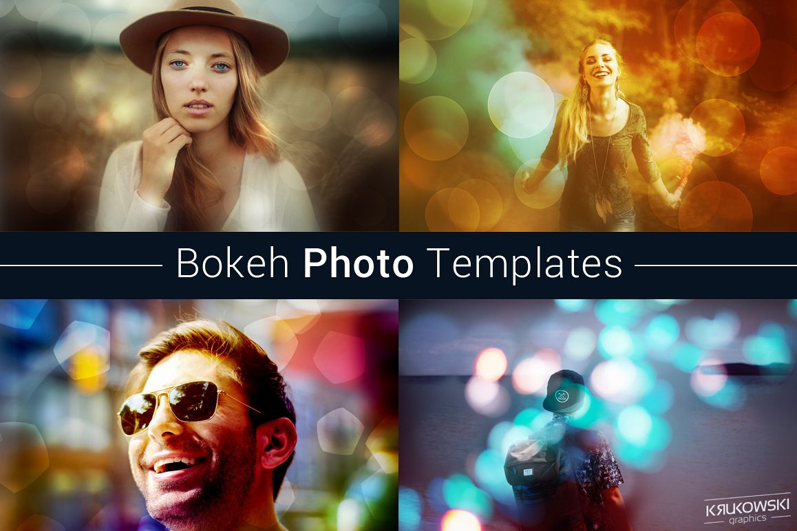 Bokeh Photo Template example image 1