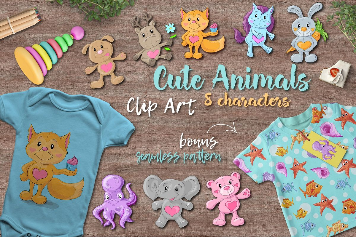 Lovely little animals example image 1