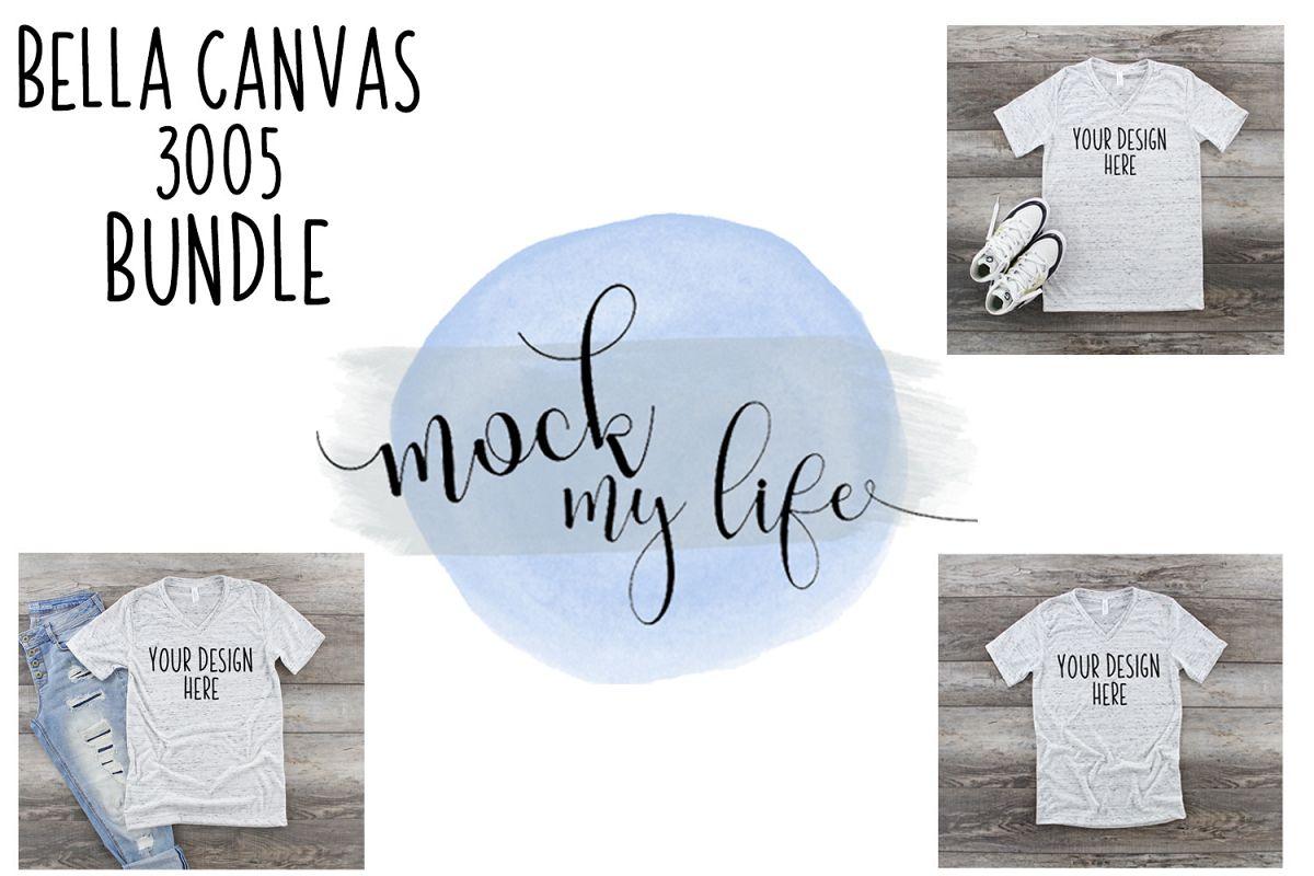 Bella Canvas Mockup Bundle / Shirt Mock ups example image 1