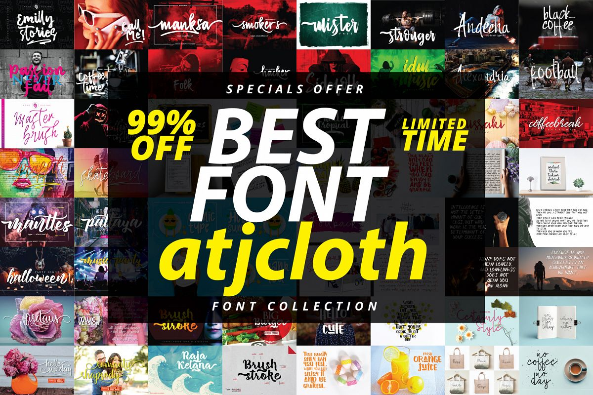 Best Font Collection - Limited Time example image 1