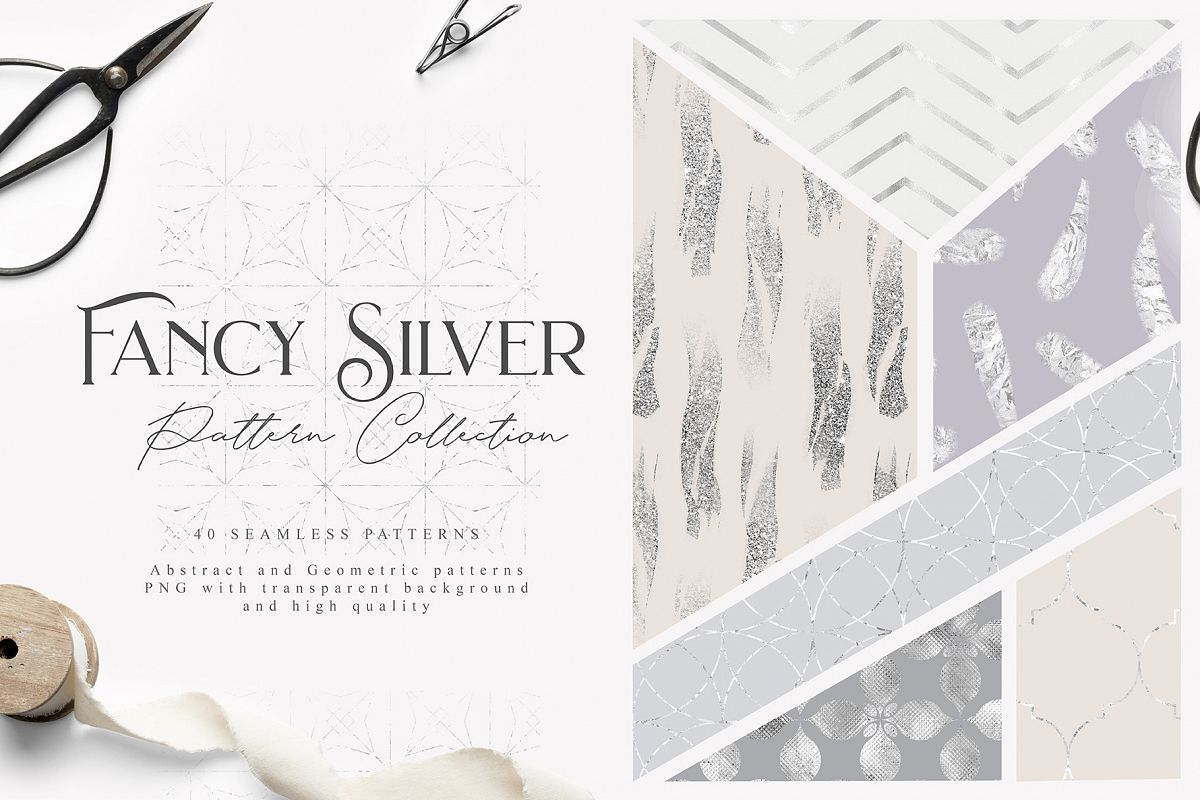 Fancy Silver Pattern Collection example image 1