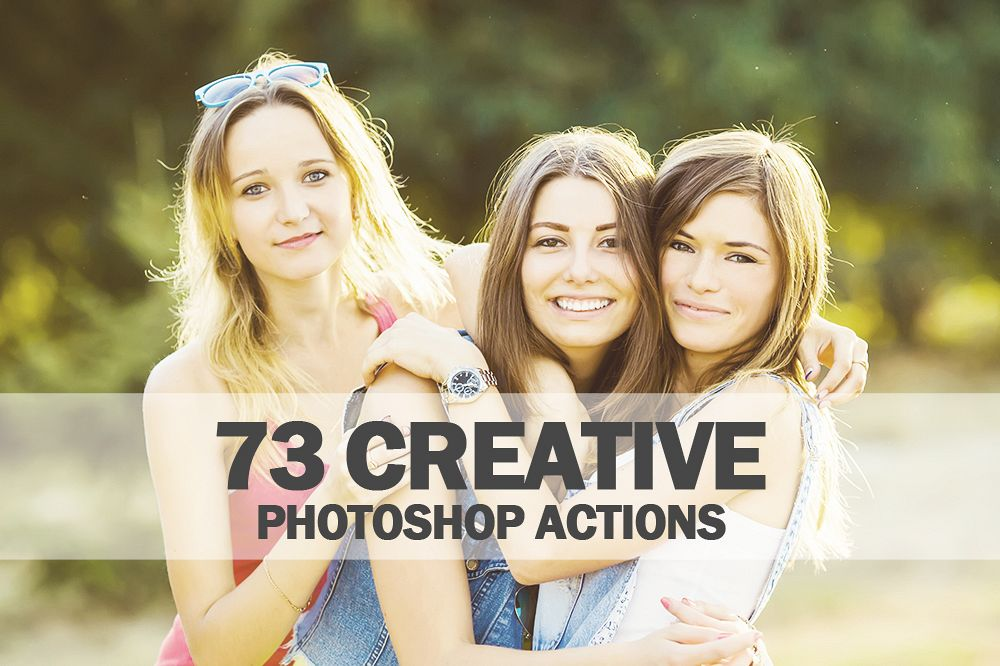 73 Creative Photoshop Actions Collection (Action for photoshop CS5,CS6,CC) example image 1