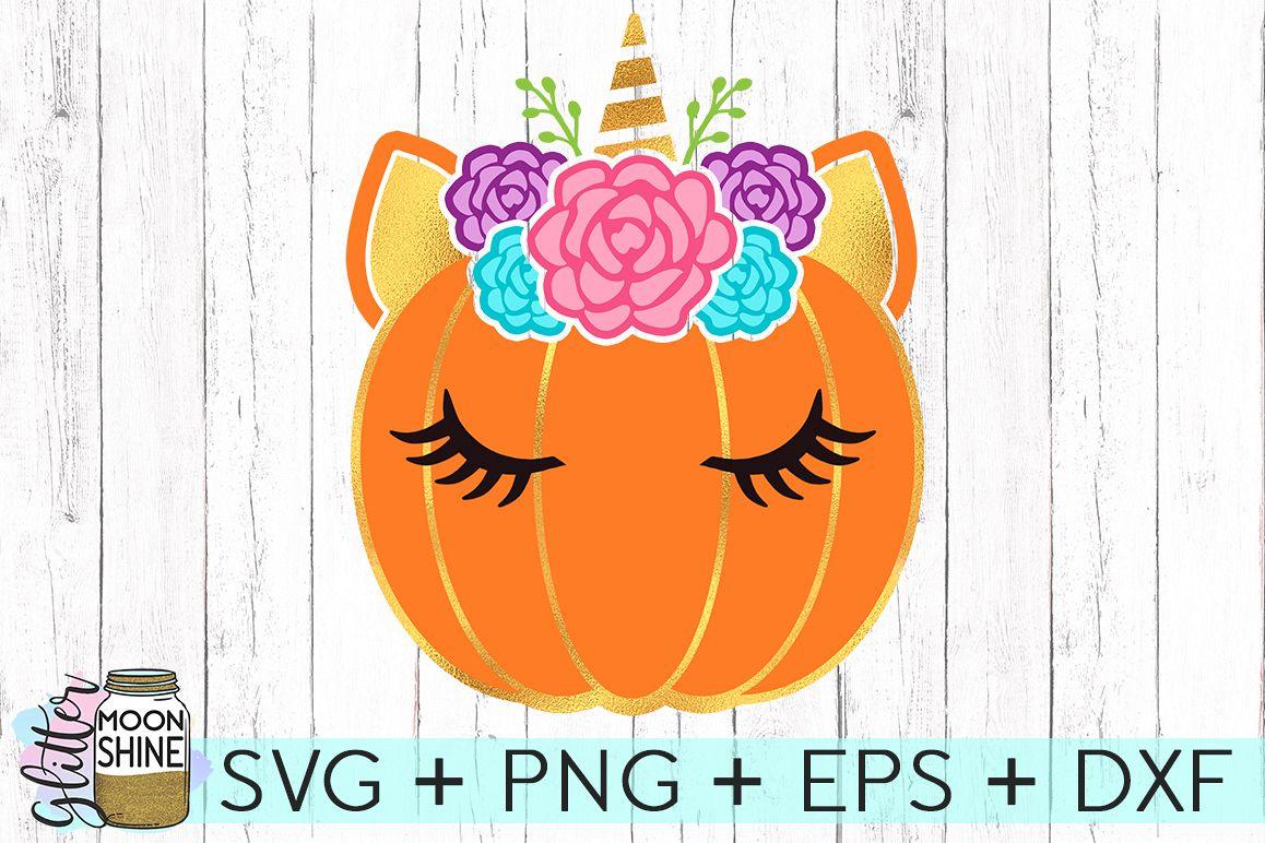 Unicorn Pumpkin Svg Dxf Png Eps Cutting Files