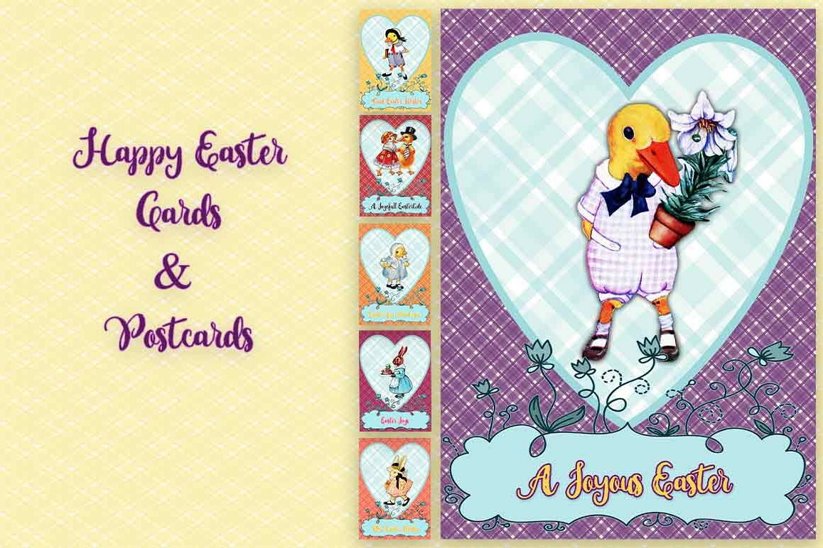 24 Easter Cards and Postcards example image 1