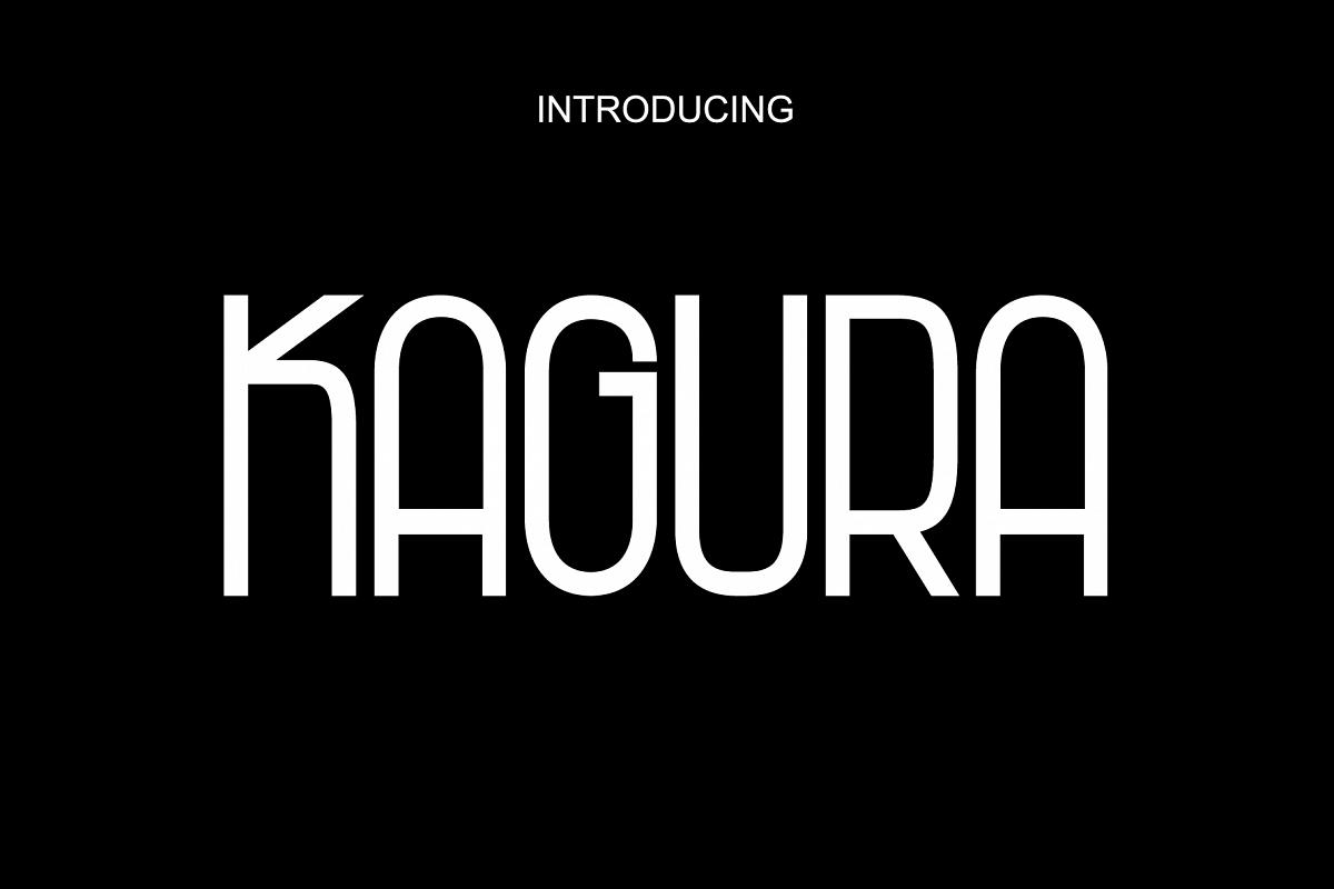 Kagura - Sans Serif example image 1