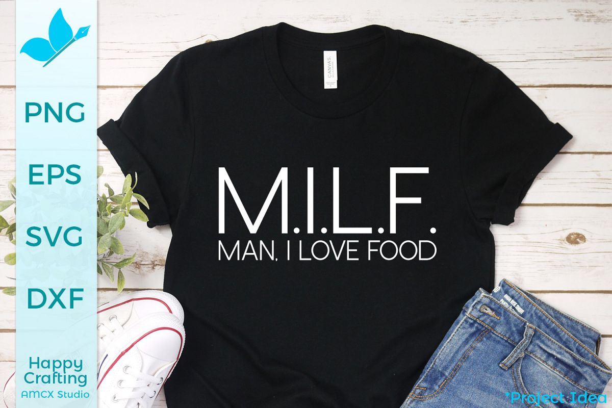 MILF, Man I love Food - A Foodie Craft File example image 1