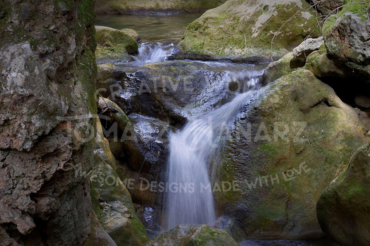 Creek Waterfall example image 1