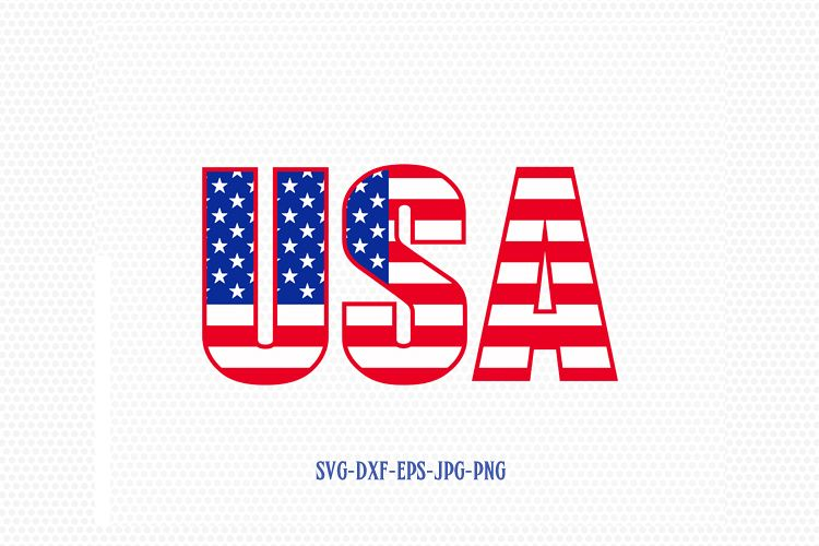 Usa Usa Svg American Flag Flag Svg Fourth Of July Svg 4th Of