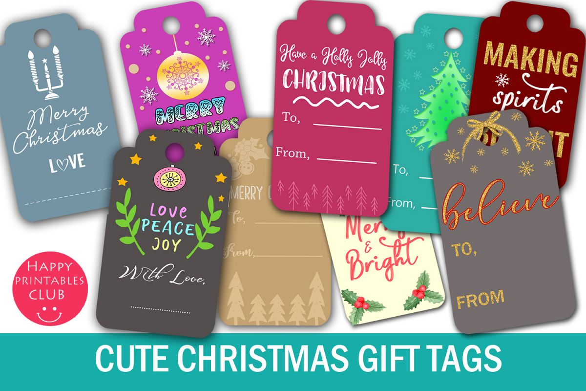 graphic about Printable Christmas Gift Tags referred to as Xmas Reward Tags- Printable Xmas Present Tags- Present Tag