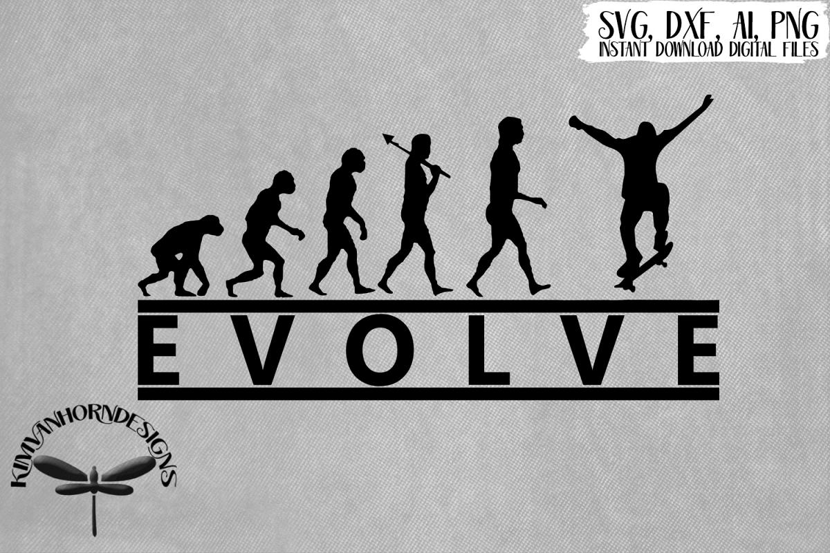 Evolve Skateboarder example image 1