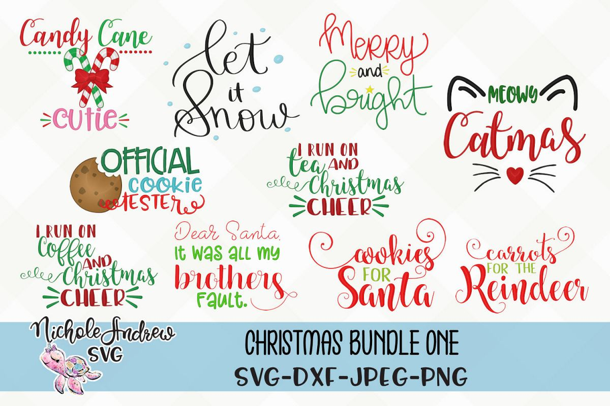 Christmas svg Bundle, Svg, Christmas svg example image 1