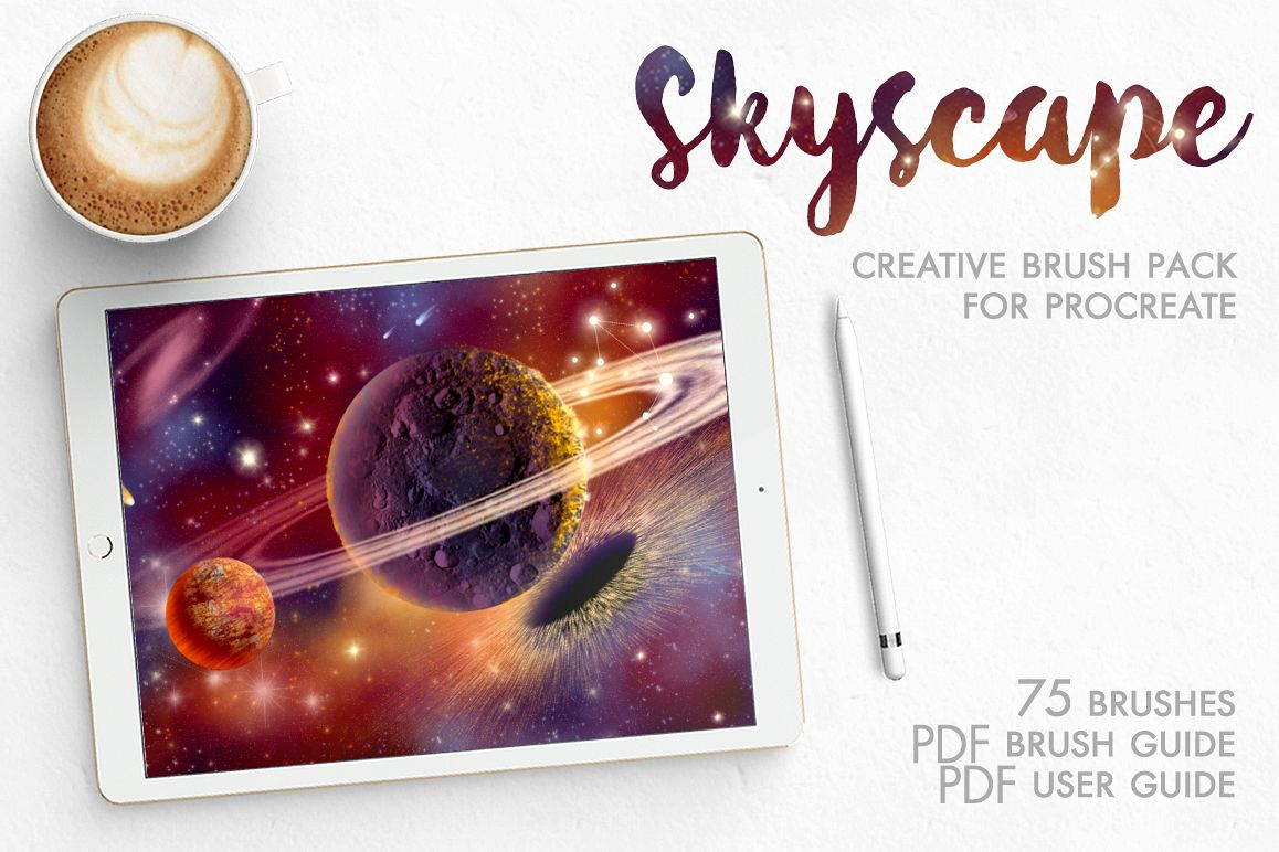 Skyscape Brushes for Procreate App