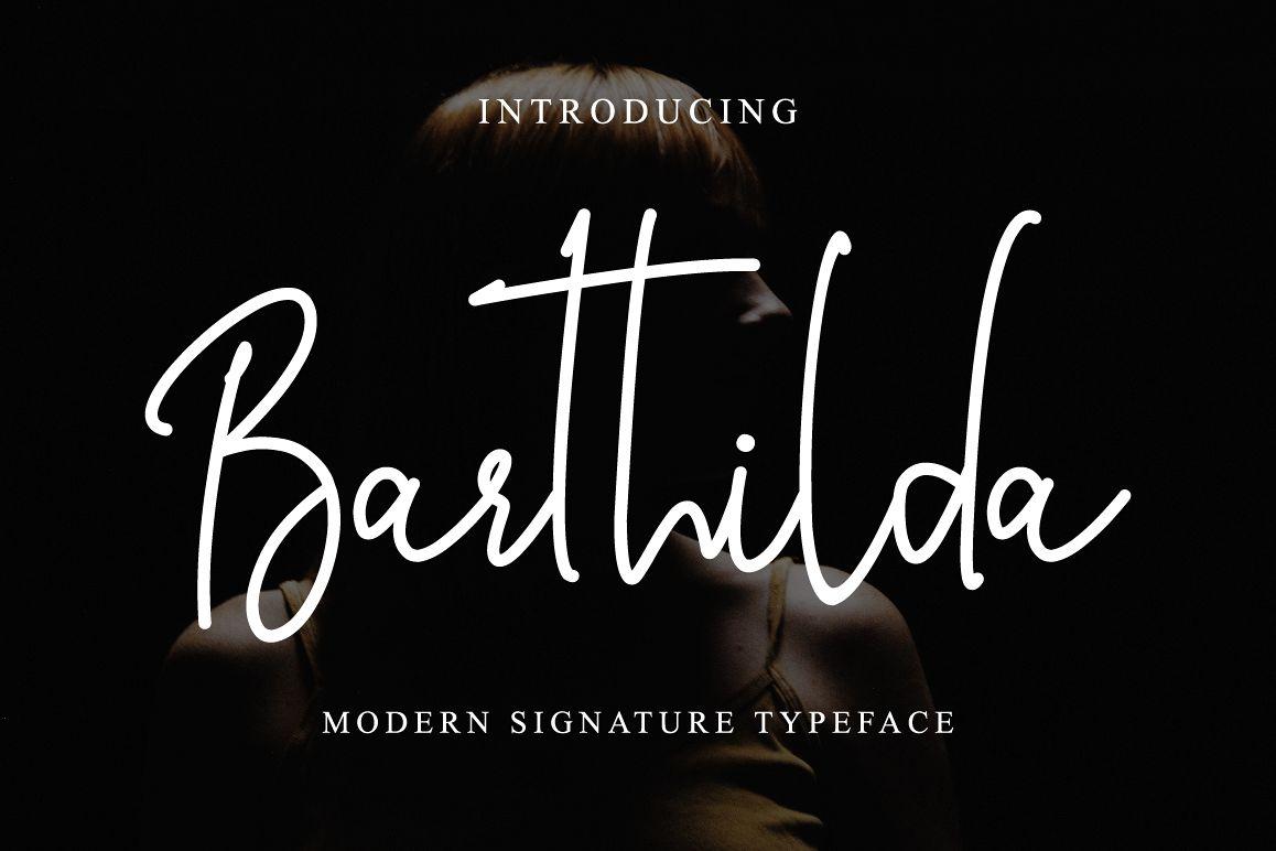 Barthilda Font example image 1
