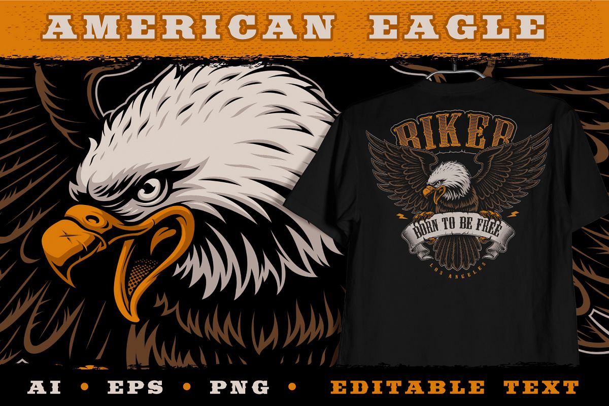 American Eagle Illustration example image 1